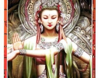 Goddess Shakti Card