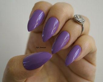 Purple stiletto nails, Nail art, Nail designs, Nails, Stiletto nails, Acrylic nails, Press on nails, Pointy nails, False nails, Fake nails