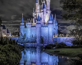 Walt Disney World-Cinderella Castle Canvas Print