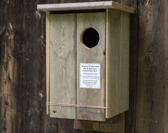 Kestrel / Screech Owl Box