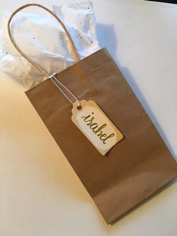 Wedding Gift Name Tags : Custom Gift Tags Name Tags Bridesmaid Gift Tags Bridal Party ...