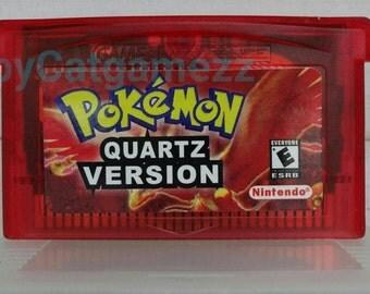 Pokemon quartz gba