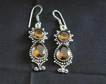 Smoky Quartz Earrings!