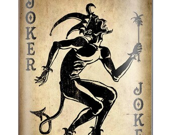 Joker 8oz flask by Trixie & Milo  wedding birthday gift