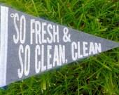 So Fresh, So Clean the Pint-sized Pennant