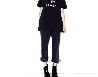 JUST LIKE HONEY The Jesus and Mary Chain t shirt band tee band shirts band tshirts 90s shoegaze goth gothic 90s grunge