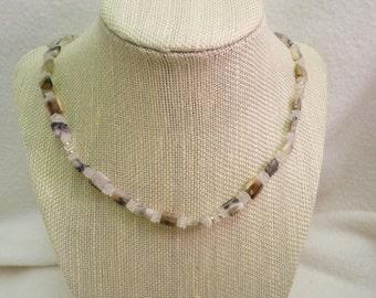 Necklace, Peruvian Opal, Moonstone     4875