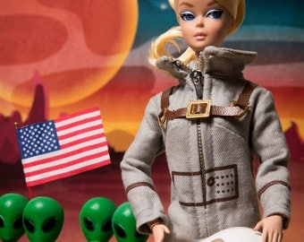 Astronaut Barbie Fine Art Photograph