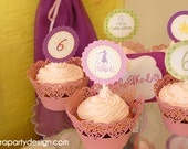 Rapunzel Party Collection- PRINTABLE PARTY KIT by Fara Party Design
