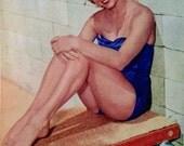1952 Lot of Pin-Ups & Movie Posters - Original Print - Debbie Reynolds, Ava Gardner, John Wayne