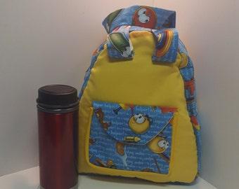Veggie Tales Little Tote in Yellow
