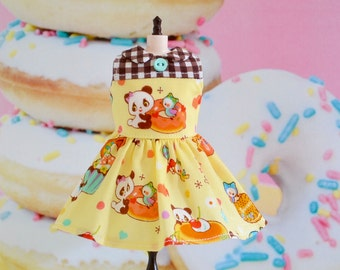 Blythe Dress Doughnut Dress for Blythe by Sweet Petite Shoppe