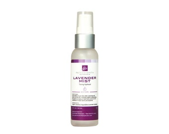Lavender Mist - Organic Lavender Hydrosol Toner - 2 oz. - Cruelty-free, certified by Leaping Bunny