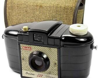 Kodak Brownie 127 Art Deco Vintage Retro Film Camera