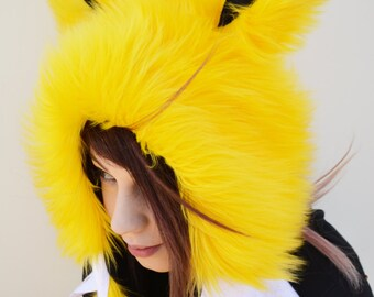 Jolteon Pokemon Cosplay Rave Hat