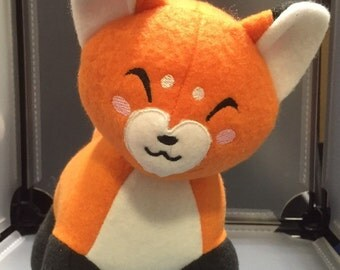 Fox Plush Plushie Toy Reynard the Orange Fox