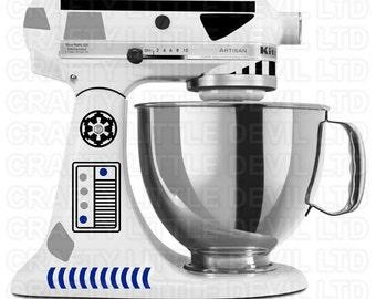 Star Wars Inspired Stormtrooper Mixer Decal Set