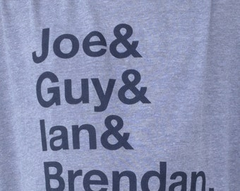 Fugazi: Helvetica Type T-Shirt