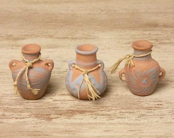 Mediterranean Miniature Crock for Your Dollhouse
