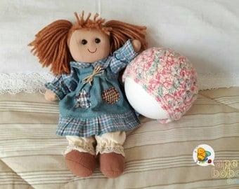 Hat, ready to ship, newborn, baby, girl, pink