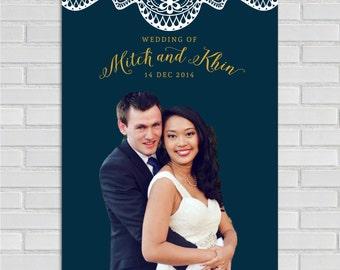 Photobooth Photo Backdrop. Photo Wedding Prop. Wedding Photobooth.