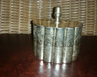 Mid Century Brass Seashell Trinket Box