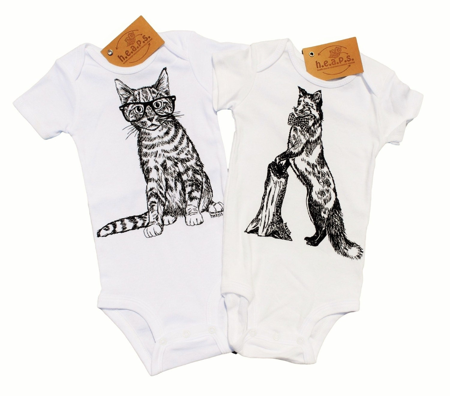 Trendy Baby Boy Clothes Baby Bodysuits Set Hipster Baby