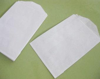 Paper Supplies ~ Mini Bags   White  Paper  30 Bags