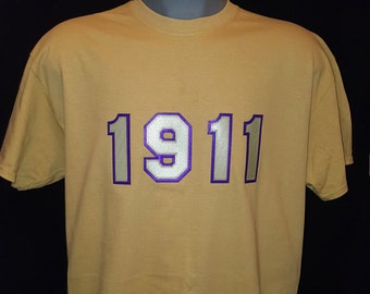 Omega Psi Phi 1911 APPLIQUE
