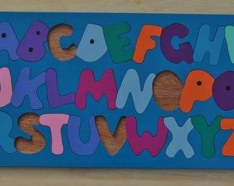 ABC's Alphabet Puzzle