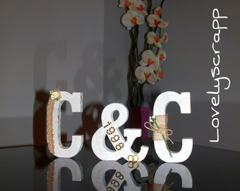 Letters scrapbooking decoration CHIC - for any occasion