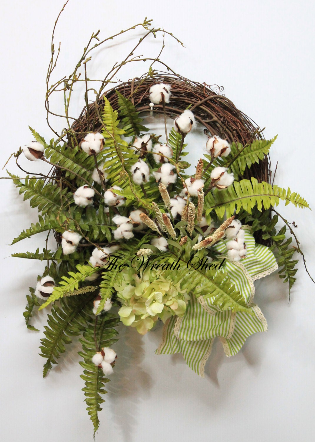 Farmhouse Wreaths For Front Door Everyday