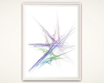 Abstract PRINTABLE, Abstract Print, Printable Wall Art, Purple Wall Art, Minimalist Poster, Minimalist Abstract Art, Abstract Wall Decor