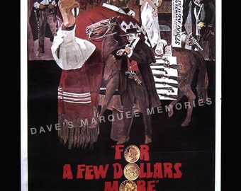 For A Few Dollars More Re-release Movie Poster (1980)