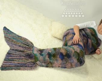 Mermaid Tail Blanket Etsy