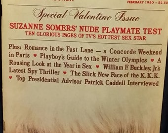 Playboy Magazine Volume 27 Number 2 February 1980 Suzanne Somers