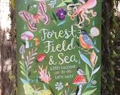 2017 Limited Edition Wall Calendar | Forest, Field, & Sea | Wall Art