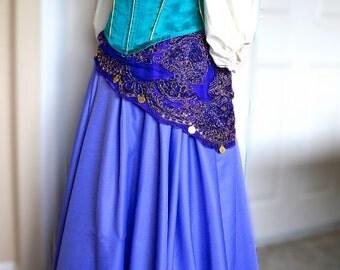 Esmeralda Hunchback of Notre Dame Custom Made Costume Gypsy Cosplay