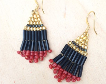 Small earrings Indian style
