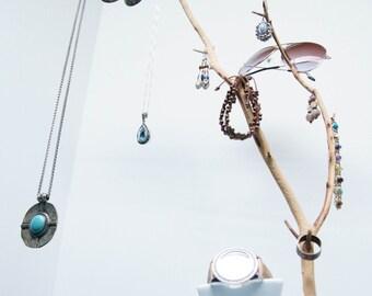 "22"" Tall Necklace Tree- Manzanita Jewelry Tree - Natural Sandblasted Manzanita Jewelry Holder - Jewelry Organizer - Necklace Tree"