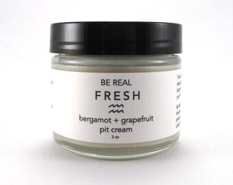 Bergamot + Grapefruit Pit Cream