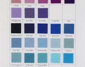 Wool Felt Square, Large Felt Sheet, Blue Felt, Purple Felt, 100% Wool, Pure Merino, Applique, DIY Sewing, Wollfilt, Holland Felt