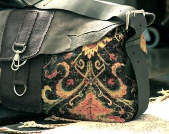 The Dinara Travel Bag, Laptop Bag, Large messenger Bag, Travel Bag, Overnight Travel Bag, Deep Blue, Everyday, Carry On