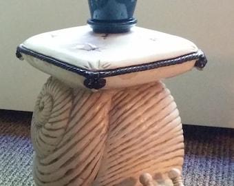A Ceramic Escargot