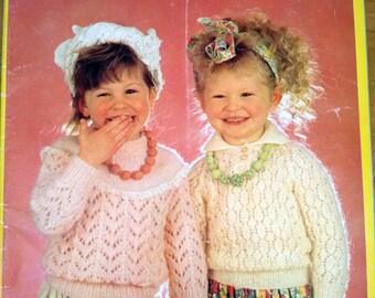 Patons Knitting Patterns Children : Patons childs knits Etsy