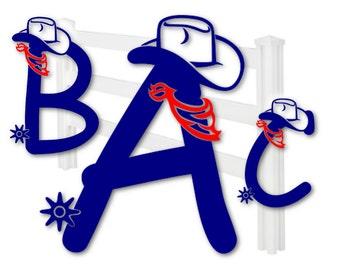 Font svg - SVG fonts - Monogram font - Fonts for silhouette - Fonts for Cricut - Cowboy font