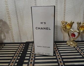Chanel N.5 Chanel 7.5ml. Perfume Vintage US version Sealed