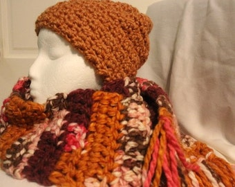 Fall Foliage Beanie Hat
