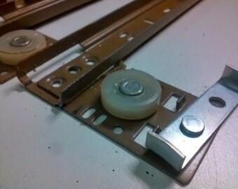 "Grant #238 Used Drawer Slides - 16"" - Full Set - Brown - Cabinet Hardware"