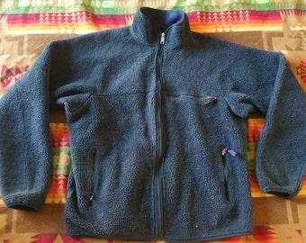 Vintage Patagonia deep fleece jacket early 90s